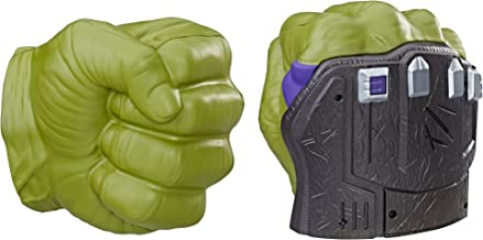 Avengers Marvel Thor: Ragnarok Hulk Smash FX Fists – Motion Activated Sounds, Smash Into Action Like The Hulk – For Ages 5 Plus