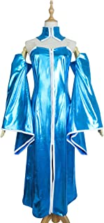 The Songstress Pink Princess White Queen Lacus Clyne Dress Cosplay Costume