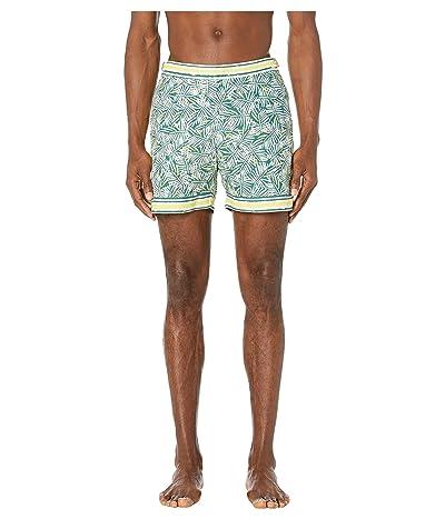 Orlebar Brown Bulldog Jungle Leaf Swim Shorts (Rainforest) Men
