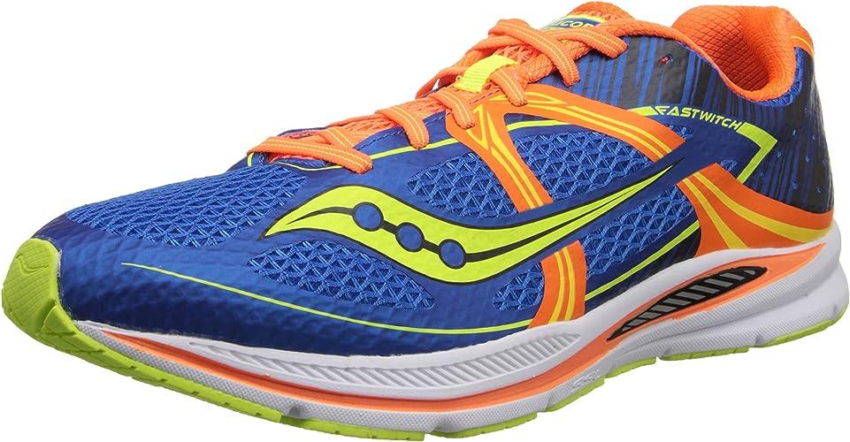 Saucony Hommes's Fastwitch Racing Flat chaussures, bleu Orange Citron, 8 M US