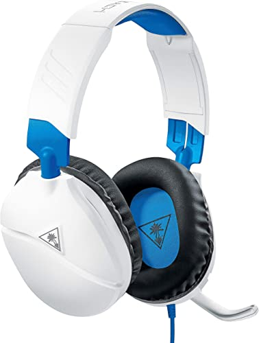 Turtle Beach Recon 70P Blanc Casque Gaming - PS4, PS5, Xbox One, Nintendo Switch et PC