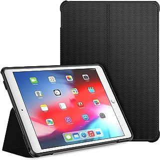 JETech Funda Compatible iPad Air 10,5 (3ª Generación 2019) y iPad Pro 10,5 2017, Soporte de Doble Plegables y Contraportada de TPU a Prueba de Choques, Auto-Sueño/Estela, Negro