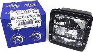 COBO Vorderlicht Quadrato Rahmen schwarz für Traktor 1014916
