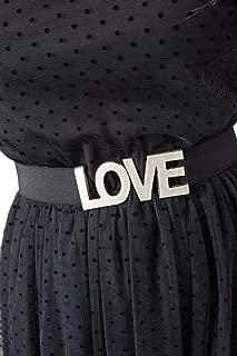 Luxury Fashion | I Am Womens G99435BLACK Black Belt | Fall Winter 19