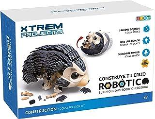 Xtrem Bots - Erizo Robótico, Construir Robot para Montar, Kit Robotica para Niños 8 Años O Más, Robots Juguetes Educativo...