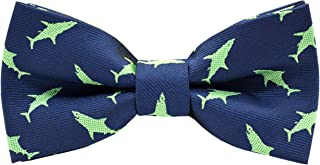 Carahere Boy's Handmade Pre-Tied Patterned Bow Ties