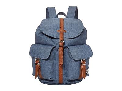Herschel Supply Co. Dawson Small (Blue Mirage Crosshatch) Backpack Bags