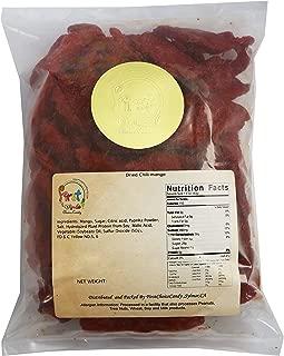 Dried Chili Mango 2 Pound 32 oz Bulk Bag