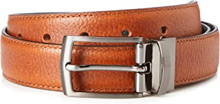 Amazon Brand - FIND Men's Leather Belt