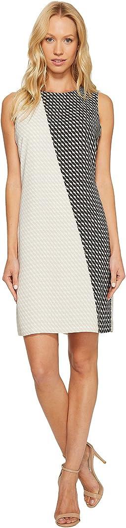 Sleeveless Modern Slant Shift Dress