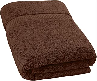 Utopia Towels Extra Large Bath Towel(35 x 70 Inches) - Luxury Bath Sheet - Brown