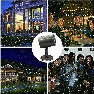 Erkeli LED Projector Lights,Landscape Spotlight Waterproof LED Land Light for Christmas,House,Garden,Party Decoration
