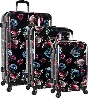 3 Piece Hardside Spinner Luggage Suitcase Set