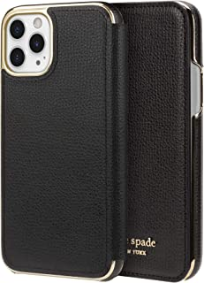 kate spade new york Black Folio Case for iPhone 11 Pro - ID & Card Holder
