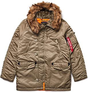 Alpha Industries N-3B Slim Fit Parka - Cold Weather Military Issue Parka