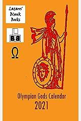 Olympian Gods Calendar 2021 Kindle Edition