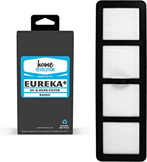 Home Revolution Replacement HEPA Filter, Fits Eureka EF-6 Airspeed, Cyclonic, Airspeed Pet Models AS1000, AS1001 & As1002 and Part 83091-1