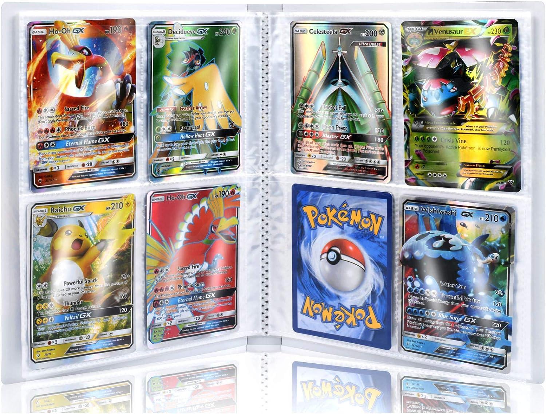 Pok/émon Carte Album Pokemon Cartes /à Collectionner Album Capacit/é de 30 Pages Capacit/é de 240 Cartes Funmo Classeur pour Cartes Pokemon Livre Protection pour Pok/émon Commerce Cartes GX EX bo/îte