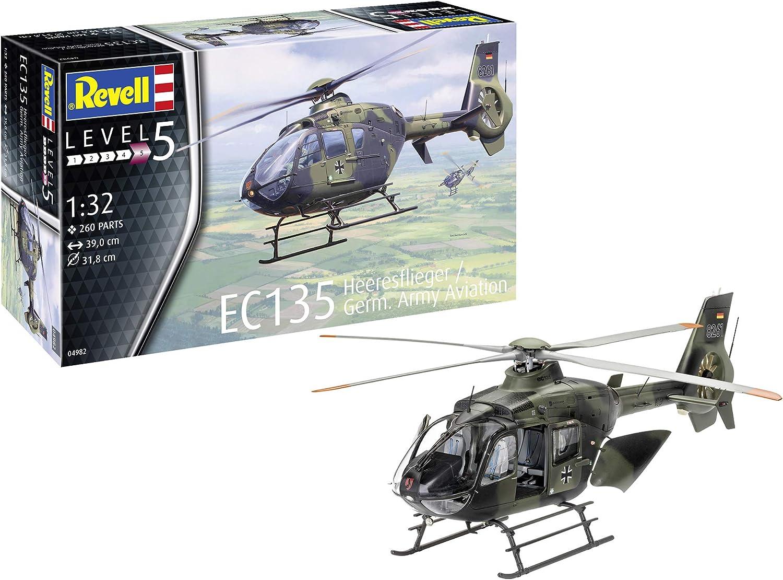 Revell 04982 EC135 Heeresflieger  Germ. Army Aviation, 1 32 Scale Plastic Model kit