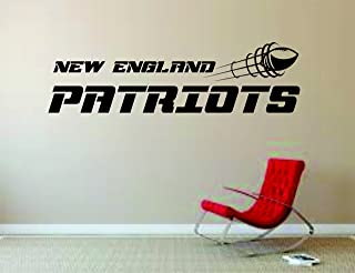 New England Patriots Wall Mural Vinyl Decal Sticker Decor NFL Football Rugby Logo