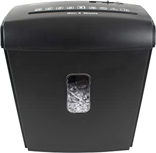 "Royal Sovereign 8 Sheet Manual Cross-Cut Shredder (RDS-15C8), 14"" x 12.6"" x 7.7"""