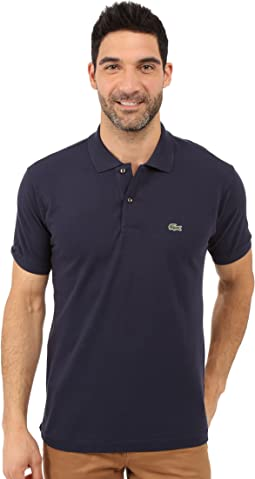 940b4c49185d4c Lacoste classic pique polo shirt rill light blue | Shipped Free at ...