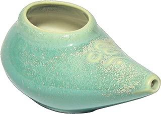 Coryell Clayworks, Neti Pot Sea Foam Green, 1 Count