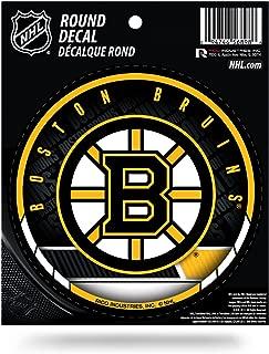 Boston Bruins Round Vinyl Decal