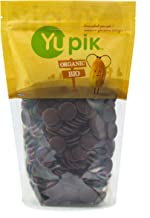 Yupik Organic Cocoa Liquor Wafers (100% Natural Cocoa Paste), 2.2 Pound