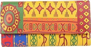 ShopMantra Multicolored Canvas Women's Wallet (LW00000256)