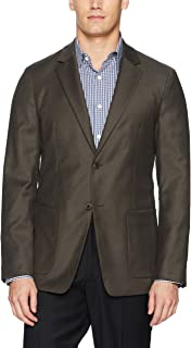Theory Mens H0971106 Tailored Flannel Suit Jacket Business Suit Jacket