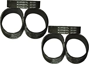 Kirby Vacuum Cleaner Belts 301291 Fits All Generation Series Models G3, G4, G5, G6, G7, Ultimate G, and Diamond Edition 6 ...