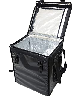 PK-66V: Pizza Delivery Bag, Food Delivery Bag, 12 inch Pizza Backpack, Insulated Food Bag, Thermal Delivery Bag, Pizza Delivery Backpack, Keep Hot, Top Loading, Velcro Closure, 16