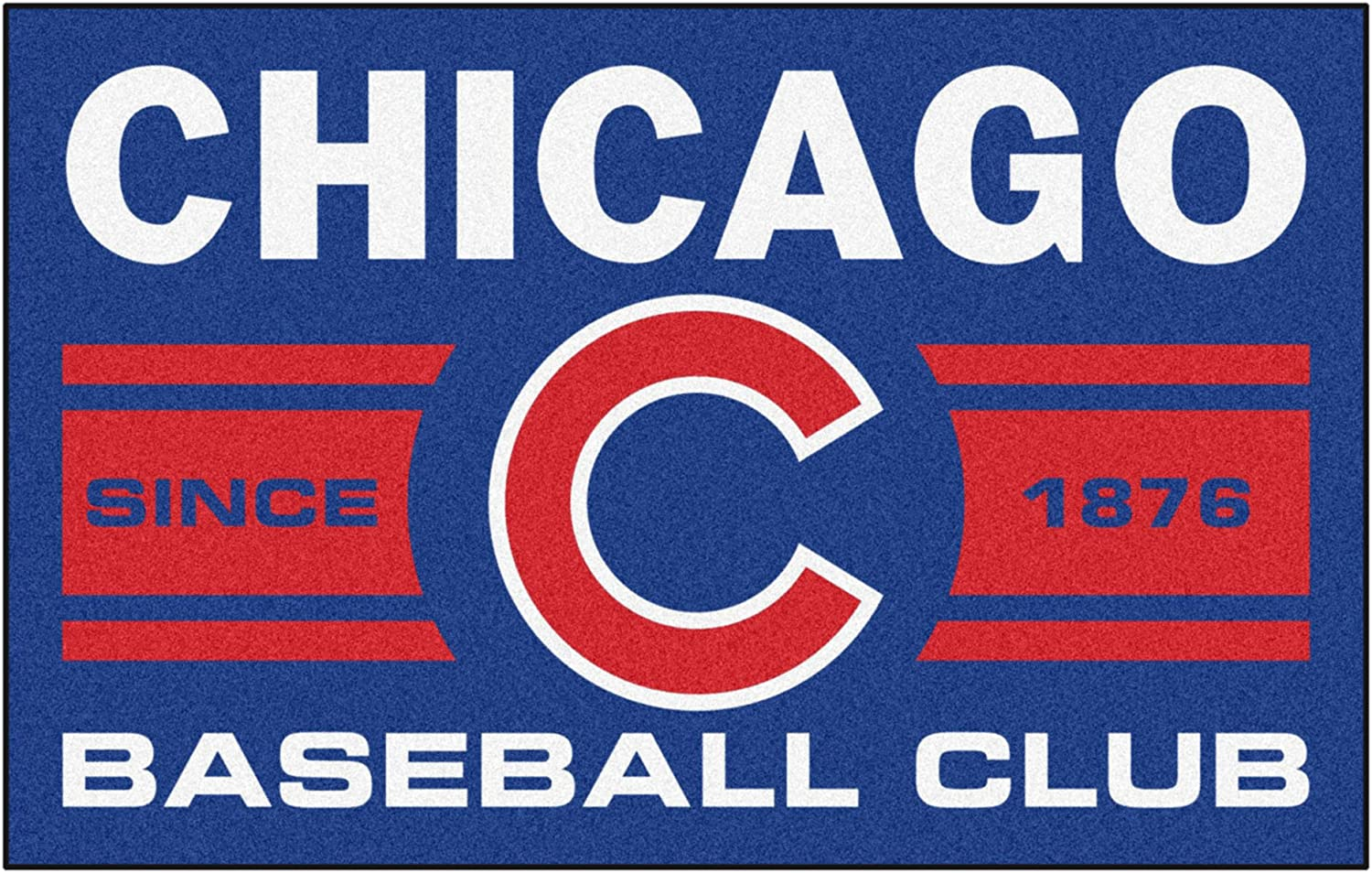 FANMATS 18463 Chicago Cubs National products Baseball Club Team gift Rug Color Starter