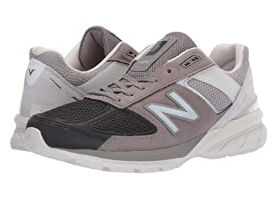 New Balance 990v5 (Black/Marblehead Pigskin/Mesh) Men