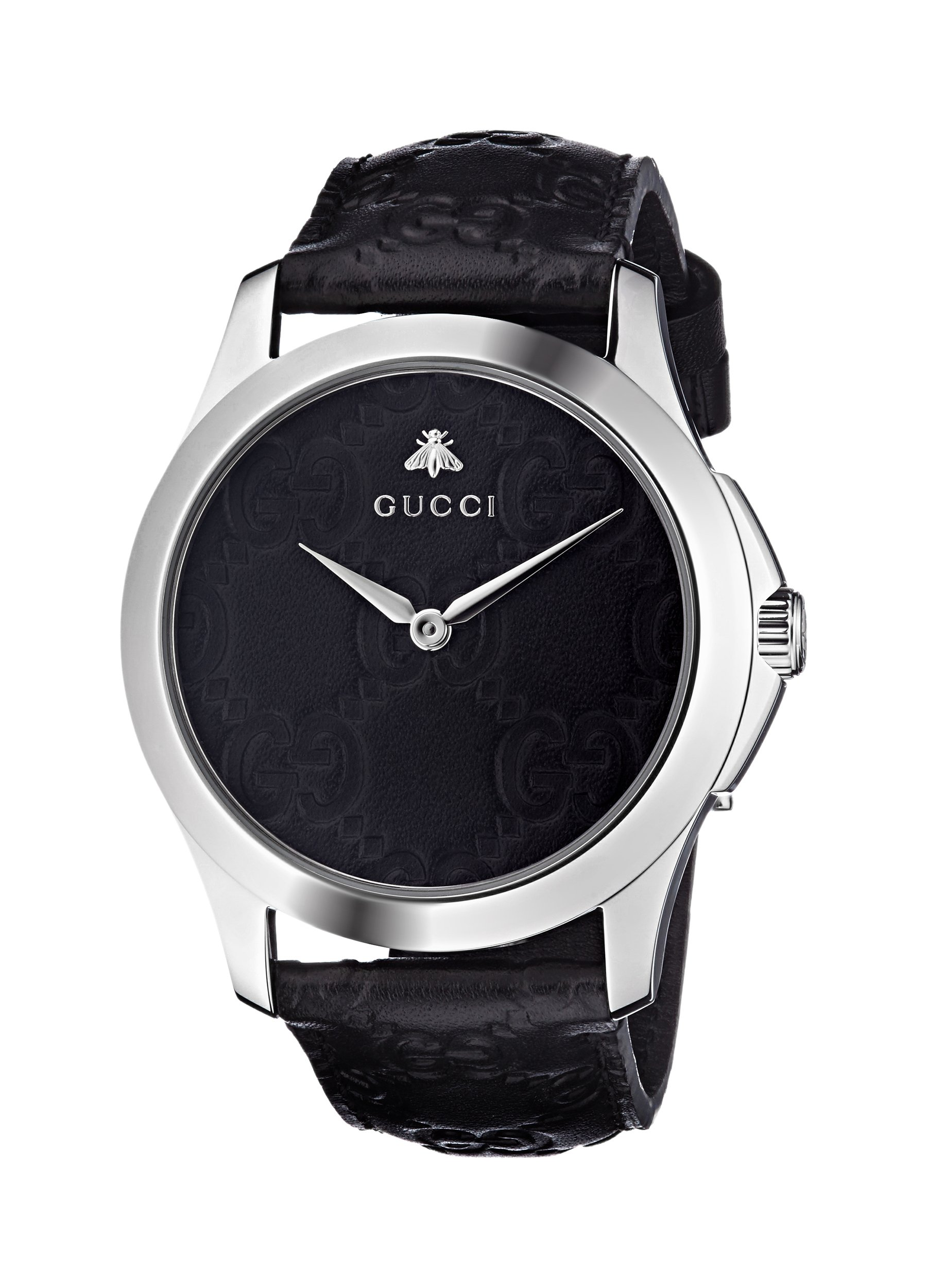Gucci Quartz Stainless Leather Casual