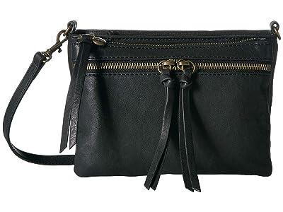 Lucky Brand Kean Small Crossbody (Black) Cross Body Handbags