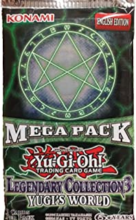 Yugioh 1x LEGENDARY COLLECTION 3 YUGIS WORLD FACTORY SEALED BOOSTER MEGA PACK by Yu-Gi-Oh!