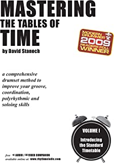 Mastering the Tables of Time -- Introducing the Standard Timetable, Vol 1: A Comprehensive Drumset Method to Improve Your Groove, Coordination, Polyrhythmic, and Soloing Skills