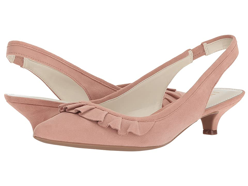 Anne Klein Elanore (Light Pink Suede) Women