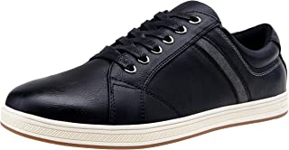 VOSTEY Men's Casual Sneakers Business Dress Sneaker Fashion Office Shoes for Men
