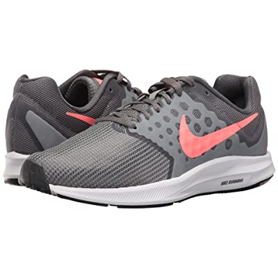 Nike Downshifter 7 (Cool Grey/Lava Glow/Dark Grey/White) Women