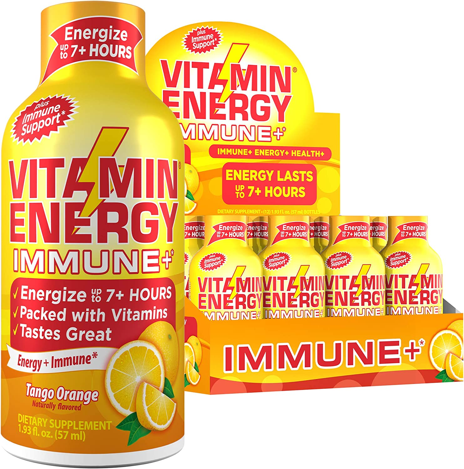 12 Popular brand Pack Vitamin Energy® Shots – Hours Charlotte Mall Lasts up to 7+ Energy