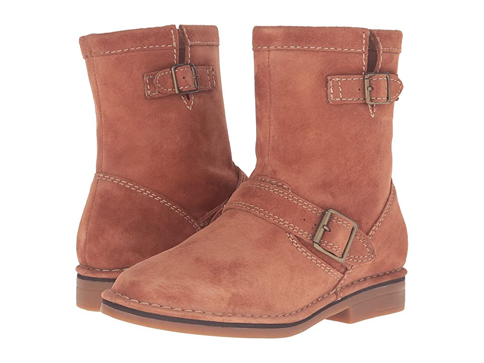 Hush Puppies Aydin Catelyn (Cognac Suede) Women