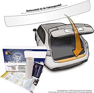 Lackschutzshop Passform Lackschutzfolie als Ladekantenschutz, passgenau transparent 150µm