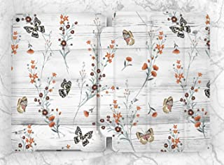 White Floral Butterflies Case For Apple iPad Mini 1 2 3 4 5 iPad Air 2 3 iPad Pro 9.7 10.5 11 12.9 inch iPad 9.7 inch 2017 2018 2019