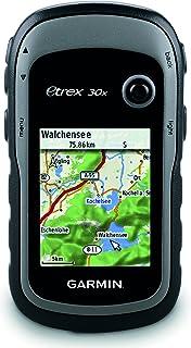 Garmin eTrex 30x - GPS de mano con brújula de tres ejes, pantalla mejorada y mapas preinstalados, pantalla e 2,2 pulgadas