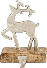 Elk Lighting 201356 Stocking Holder, Sawyer White, Silver