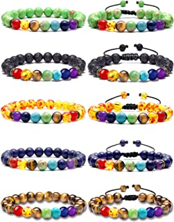 Best 7 chakra stone beads bracelet Reviews