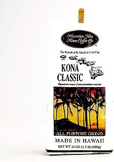 Hawaiian Isles Kona Classic Coffee 24 oz. 24 oz Each (6 Items Per Order)